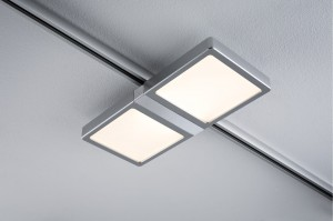 Lampa do szyn URail Panel Double 8W LED chrom mat 95309