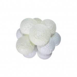 KULE LED COTTON BALLS 10SZT.