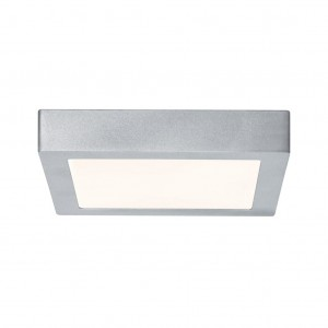 Lunar LED-Panel 220x220mm 12.5W 230V chrom mat Alu
