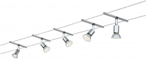 System linkowy LED  Spice SaltLED   5x4W chrom mat 12V
