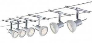 System linkowy LED  Sheela  6x4W chrom mat 12V