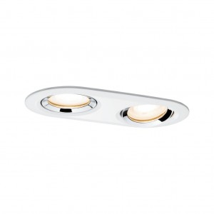 Premium EBL Set Nova IP65 schwb oval LED